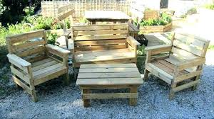 pallet outside furniture. Outdoor Furniture Out Of Pallets Garden Plans Pallet Outside R