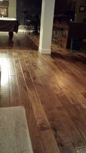 hallmark floors engineered hardwood flooring heirloom natural walnut installation in shawnee ks these floors