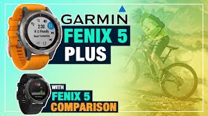 Garmin Watch Comparison Chart 2018 Garmin Fenix 5 Plus Vs 5 5s 5x Gps Watch Comparison