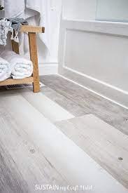 Installing Vinyl Plank Flooring Lifeproof Waterproof Rigid Core Sustain My Craft Habit
