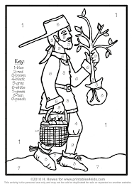 Small Picture Johnny Appleseed Coloring Page Perfect Johnny Appleseed Coloring