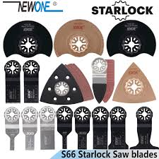 <b>NEWONE 66pcs Starlock blade</b> Oscillating Tool Saw Blades Set fit ...