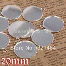 silver plated 20mm cabochon setting teeth edge bezels pendant base blanks for jewelry making uk 2019 from bester10 uk 64 98 dhgate uk