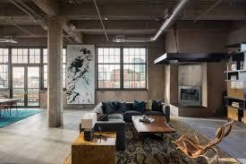 Loft Studio Apartment Scintillating Industrial Studio Apartment Contemporary Today