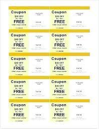 coupon templates word coupon template microsoft word wsopfreechips co