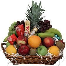 fresh fruit gourmet gift basket