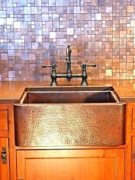 farmhouse sink with backsplash copper tile ideas copper tiles for copper tiles for kitchen copper farmhouse sinks copper farmhouse sink with drainboard and