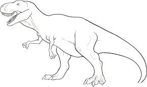 Small Picture Dinosaur Coloring Pages Free Printable At zimeonme