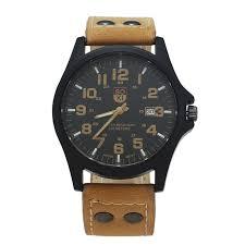 soki brand original fashion casual quartz watches for men soki brand original fashion casual quartz watches for men faux leather calendar army watch vintage style montre homme watches for wrist watches