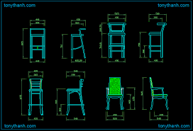 dining chair side elevation cad block. long foot chair high autocad drawing, dwg block free download dining side elevation cad t