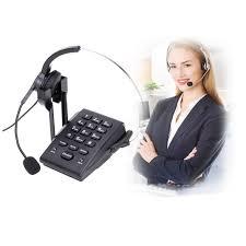 ht300 hands free corded business landline headset telephone desk call center office phone noise