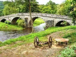 arched bridge old stone bridge photograph rural with old stone arched bridge by free arched garden