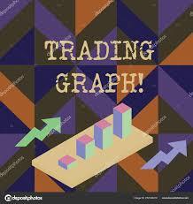 Escribir Texto Escrito A Mano Trading Graph Concepto