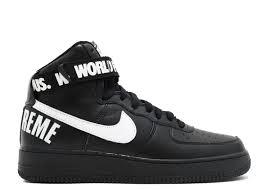 nike x supreme shoes. air force 1 high supreme sp \ nike x shoes m