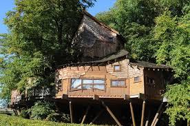 The Treehouse Restaurant The Alnwick Garden Alnwick Castle Stock The Treehouse Alnwick