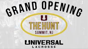 The Hunt Universal Lacrosse In Summit Nj Grand Opening Youtube
