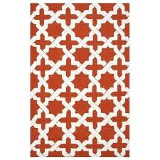 orange and white rug the rug market orange white area rug orange and white area rug