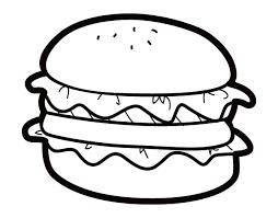 Disegni Da Colorare Hamburger Fredrotgans