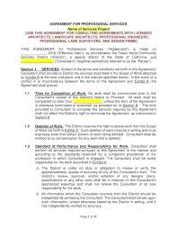 Service Agreement Samples Professional Services Agreement Template And Templates Word