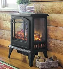 electric wood stove fireplace s log set with intended for heater design 10