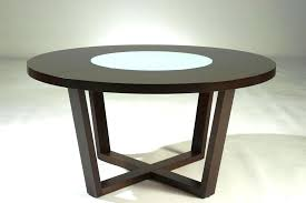 60 inch round dining table contemporary with leaf