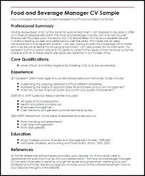 Bar Resume Examples Bar Resume Examples Bar General Manager Resume ...