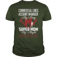 Commercial Lines Account Manager Super Mom Job Title Tshirts T Shirt Teeshirt21