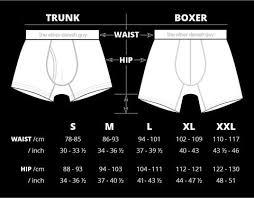 Mens Boxer Brief Size Chart Underwear Measurement Chart Girl Underwear Size Chart Donna