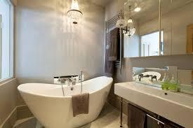 mini chandelier bathroom lighting