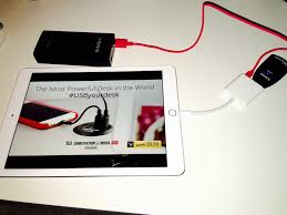 now you can plug the usb adapter into the ipad and it will import your photos just fine