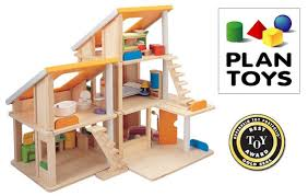 Plan Toys Chalet Dollhouse With Furniture Top 10 Dollhouses For Toddler Girls (Age 2 to 6 Years Old)