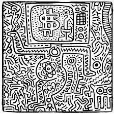 Small Picture 17 best Coloriages adultes Keith Haring images on Pinterest