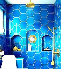 Light blue bathroom tiles Living Room Baby Blue Bathroom Light Blue Tiles Blue Bathroom Tiles Bright Blue Bathroom Tile And Gold Fixtures Bipnewsroom Baby Blue Bathroom Bipnewsroom