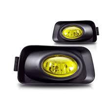 2006 Acura Tsx Yellow Oem Fog Lights Winjet Pair