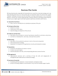 Business Plan Sample Resumecv Browse All Resume And Template How