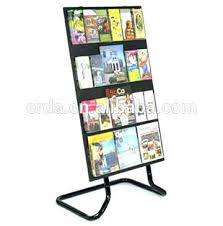 Book Stands For Display Interesting Book Display Stand Two Sided Mobile Book Display Stand Book Display