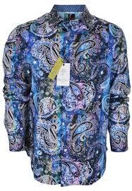 Robert Graham Size Chart Robert Graham Dry Creek New Printed Paisley Shirt S Button Down Top Size 6 S 22 Off Retail
