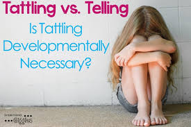 Tattling Vs Telling Is Tattling Developmentally Necessary