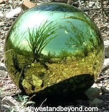 garden globes glass gazing ball garden globe sphere large garden for
