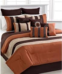 rust colored comforter sets. contemporary comforter elston  spice 12 piece king comforter set to rust colored sets