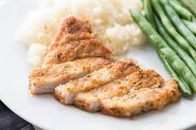 Loin pork roast, pork hipbone. Parmesan Crusted Pork Chops Recipe Video Lil Luna