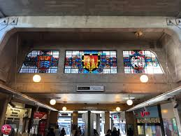 Holden Design Centre Stained Glass And Charles Holden Design At Uxbridge Station