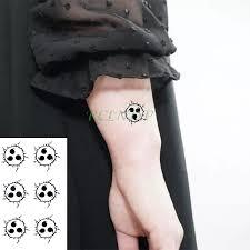 Vodotěsný Dočasné Tetování Nálepka Naruto Anime Falešné Tatto