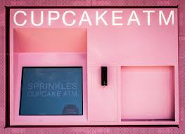 Cupcake Vending Machine Nyc Locations Adorable Sprinkles Cupcake ATM At Lenox Square Mall Peaches Please