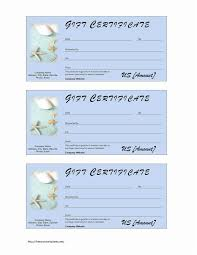 gift certificate template word coupon templates for it