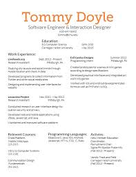 Ideas For Resume