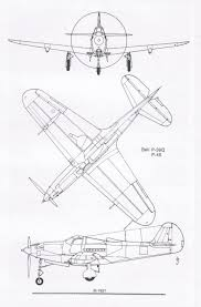 This 3 view drawing of the bell p 39 is typical of the clean appearance that is a signature of jones' work image used with permission of lloyd s jones