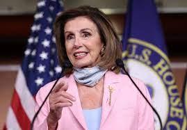 U.S. House Speaker Nancy Pelosi headed ...