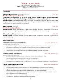 Colette Sisofo Resume USA 2014. Colette Lauren Sisofo 1224 Ardmore Drive  Cary, Illinois 60013 Phone: 847-829- ...