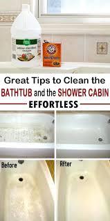 cleaning a bathtub how